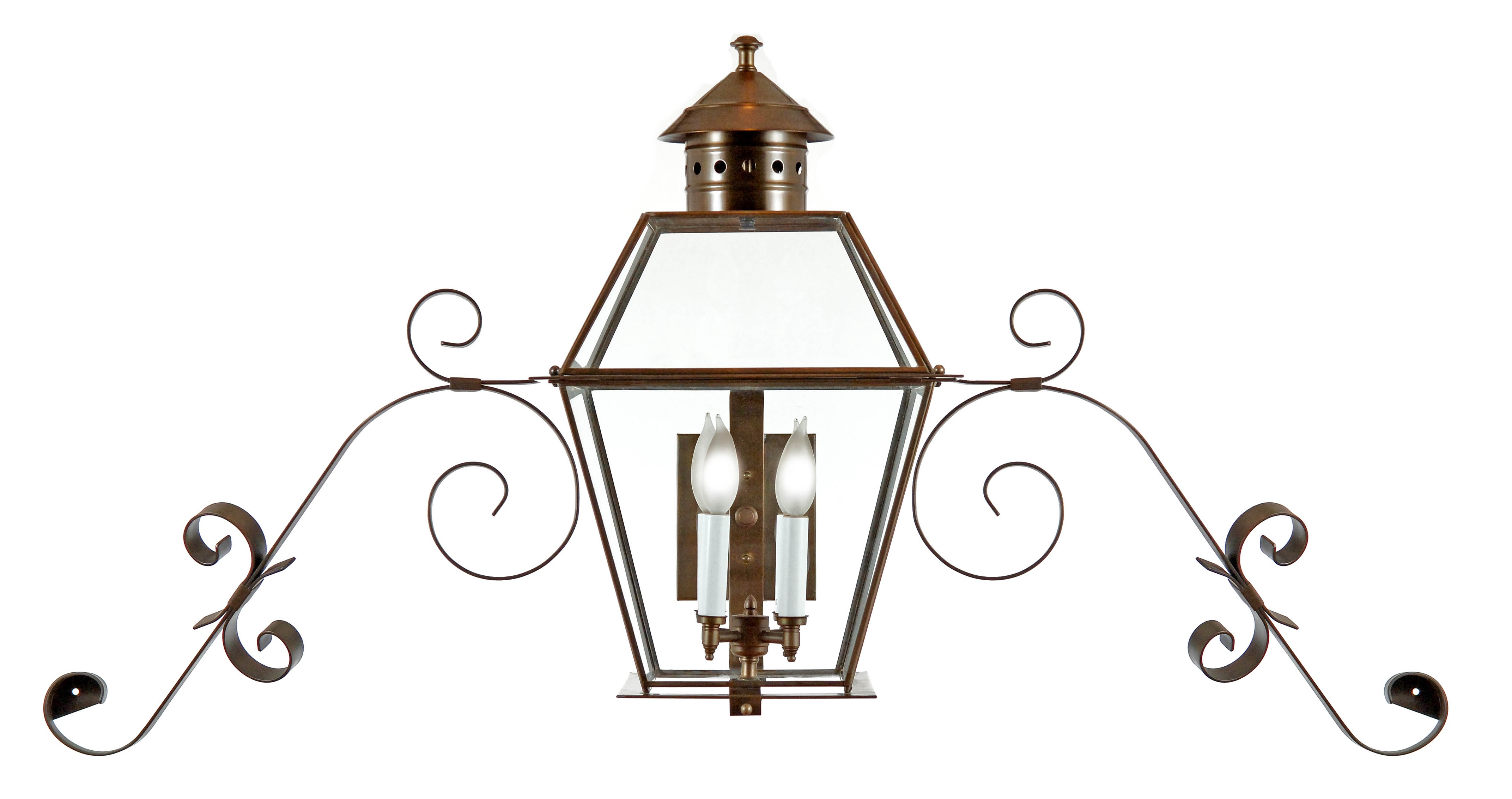 Exterior Br Copper Lighting Gallery Fourth Colony