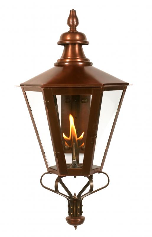 Exterior brass copper gas lighting fourteenth colony lightingfourteenth colony lighting