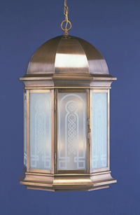 Commemorative lantern made for Danny Thomas at St. Jude in Memphis, TN